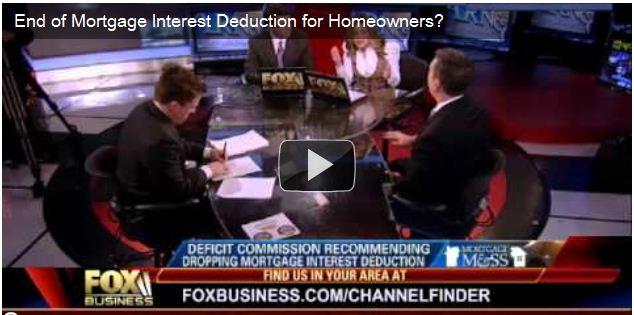 mortgage interest deduction MID